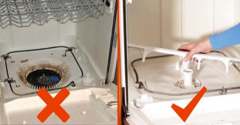 spülmaschine sauber