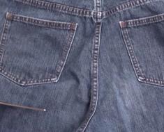 Von der Jeans zur Gartenschürze