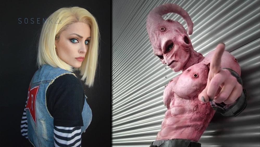 Bemerkenswerte Dragonball Cosplays von einem Make-up Artist