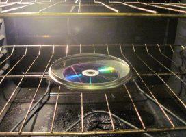 WLAN verstärken mit CD und Satellitenschüssel