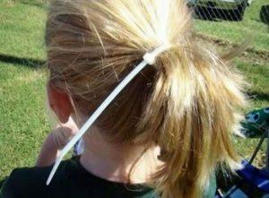 Haarband Kabelbinder