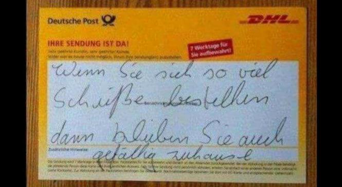 14 Postboten, die absolut keine Lust haben