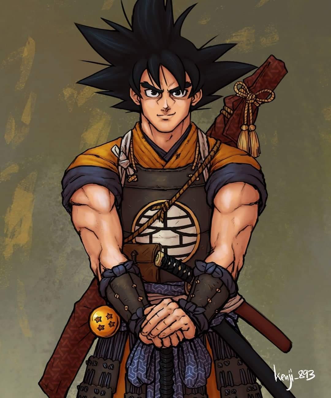 Dragonball Samurai son goku
